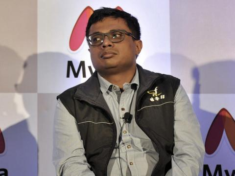Sachin Bansal (no relation to Binny) is also a co-founder of Flipkart.