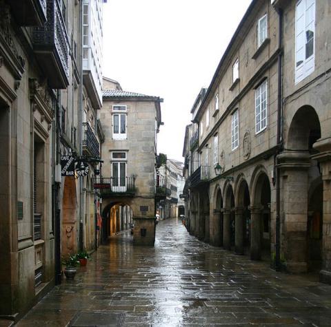 Santiago de Compostela.Galicia