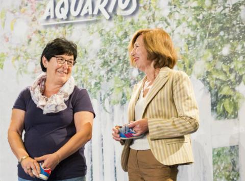 Lorea Iregui Villar y Margarita Gorrochategui presentan Sasoibide.