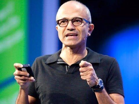 Satya Nadella, CEO de Microsoft [RE]