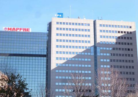 Sede de la Agencia EFE.