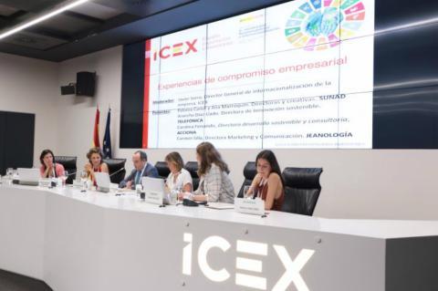 Seminario Sostenibilidad, responsabilidad e internacionalización de iCEX bueno