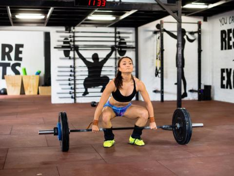 Strength training reduces body fat and builds muscle at the same time.