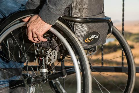 silla ruedas aeropuerto