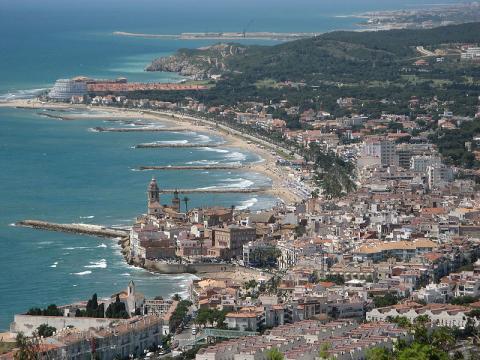 Sitges. Cataluña