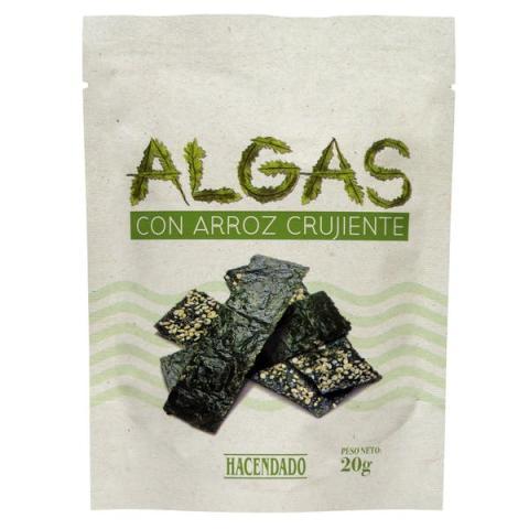 Snacks de algas de Mercadona