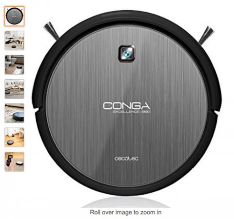 Spanish shoppers also bought the Cecotec Conga Excellence 990 4 in 1 iTech 3.0 robot vacuum cleaner.