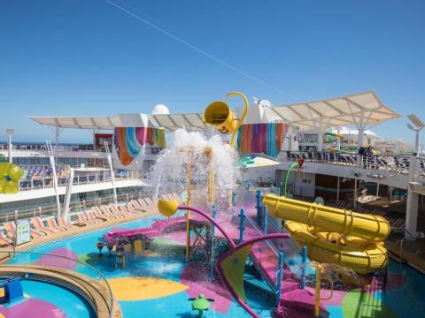 Splashaway Bay is a playground-water park hybrid.