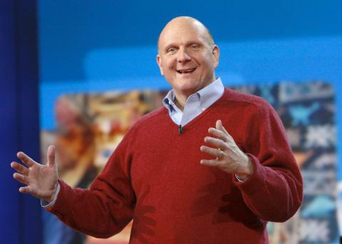 Steve Ballmer Microsoft