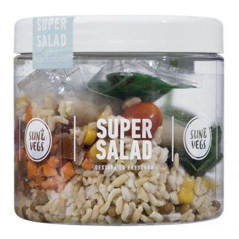 Super salad mediterranea mercadona