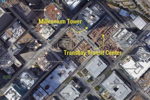 All was well until 2010, when construction began on the Salesforce Transit Center (formerly the Transbay Transit Center) next door.