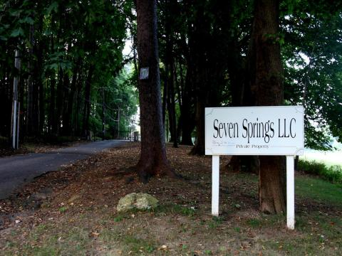 The Trumps also have a 39,000-square foot mansion in Bedford, New York, called Seven Springs, for which they reportedly paid $7.5 million and use as a family getaway.