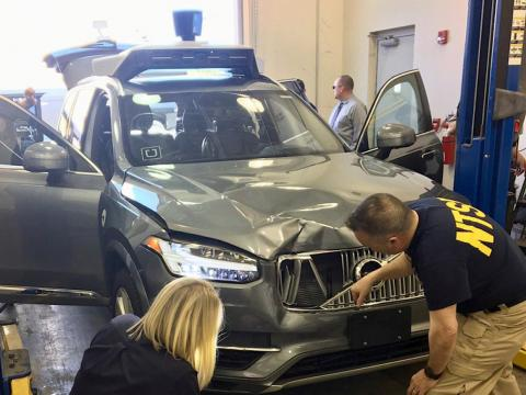 MARCH: This self-driving Uber car killed Elaine Herzberg. It was the first pedestrian fatality involving an autonomous vehicle.