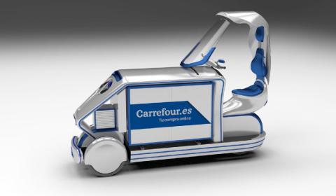 El vehículo de reparto eléctrico hecho en Sevilla que probará Carrefour y limpiará el aire a su paso por el centro de Madrid