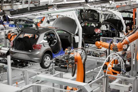 Volkswagen Polo en la fábrica de Navarra