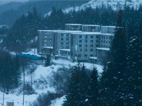 Whittier, Alaska.
