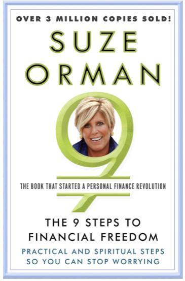 1. 'Los 9 pasos hacia la libertad financiera: Pasos prácticos y espirituales para que puedas dejar de preocuparte', de Suze Orman