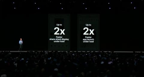 1. Apple is making sure iOS 12 works great on older devices. For instance, it says apps will launch up to 40% faster on the iPhone 6S running the new software.