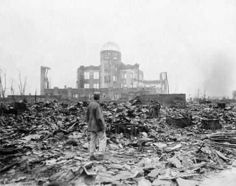 1. August 6, 1945: the bomb nicknamed 'Little Boy' flattens Hiroshima