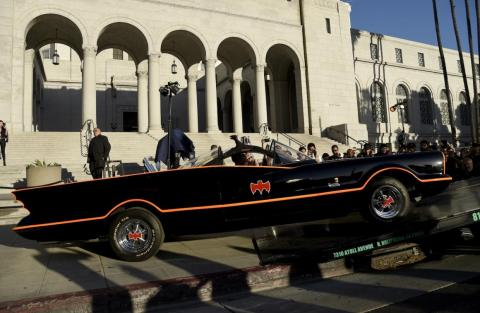 1. The Batmobile