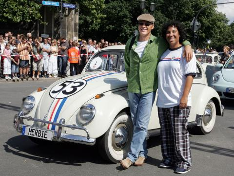 10. 1963 Volkswagen Beetle Herbie