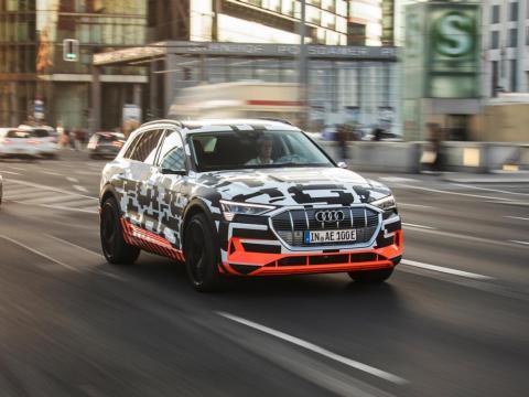 10. Audi e-tron