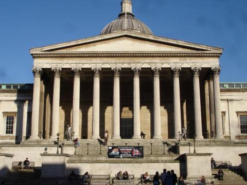 UCL's Portico Building