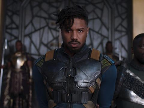 "11. Michael B. Jordan as Erik Killmonger in ""Black Panther"""