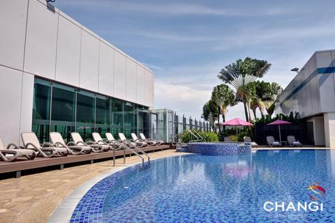 12. ...A rooftop pool,...