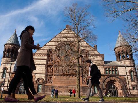 13. Princeton University, USA — 90.9