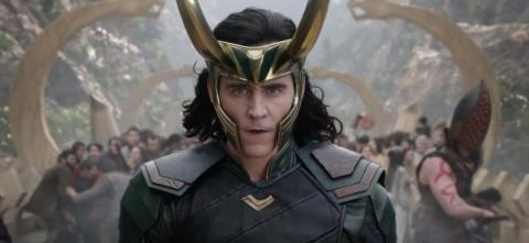 "15. Tom Hiddleston as Loki in ""Thor: Ragnarok"" (2017)"