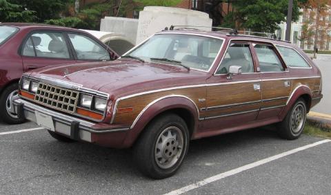 16 coches adelantados a su tiempo AMC Eagle