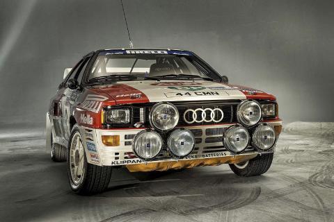 16 coches adelantados a su tiempo Audi quattro.