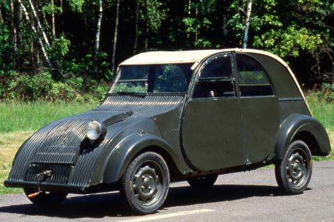 16 coches adelantados a su tiempo Citroën 2CV