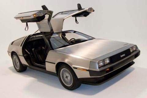 16 coches adelantados a su tiempo DeLorean DMC-12