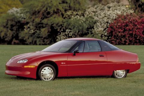 16 coches adelantados a su tiempo GM EV1