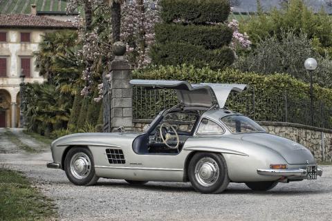 16 coches adelantados a su tiempo Mercedes 300 SL