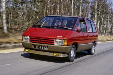16 coches adelantados a su tiempo Renault Espace