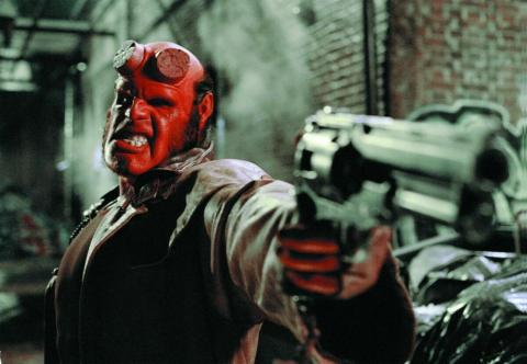 "17. Ron Perlman as Hellboy in ""Hellboy"" (2004)"