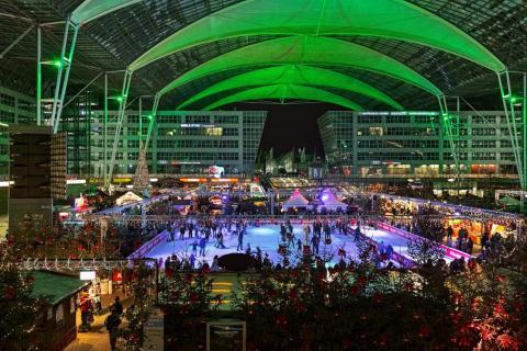 2. Munich International Airport (Germany) — Ice rink