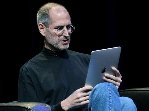 In 2010, Jobs finally introduced the Apple iPad, the tablet he had been wanting since the early 2000s.