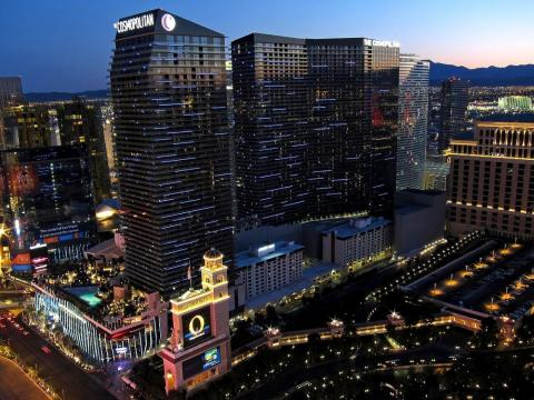 In 2010, a set of Las Vegas high-rises called the Cosmopolitan was built for $3.9 billion.