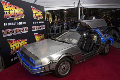 3. DeLorean DMC-12 Time Machine