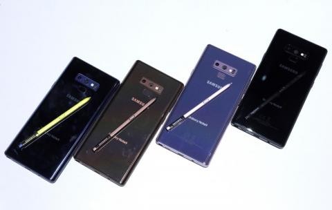 3. The Galaxy Note 9 features way more storage capacity than the Galaxy S9 or S9 Plus.