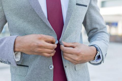 Crisp, well-fitted clothes can help you feel more confident on your first day.