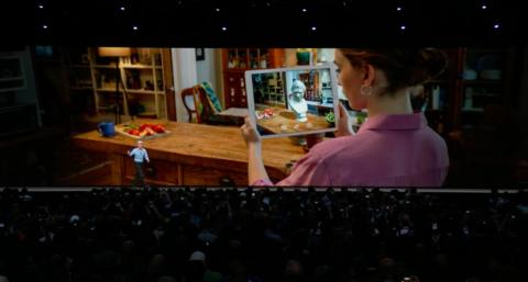 3. iOS 12 features ARKit 2, which offers improved face-tracking, more realistic rendering, and support for 3D object detection and persistence for more immersive augmented-reality experiences. The coolest part: You can play AR