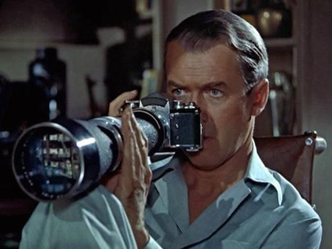 """3. """"Rear Window"""" (1954)"""