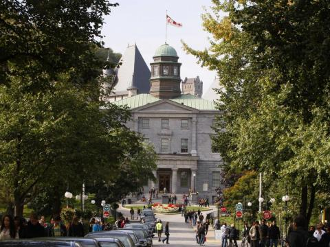 33. McGill University, Canada — 81.7