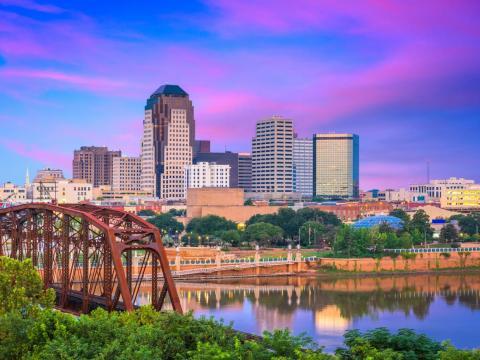 33. Shreveport, Louisiana
