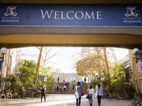 39. University of Melbourne, Australia — 80.1 (overall score out of 100)